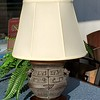 Asian Bronze Table Lamp