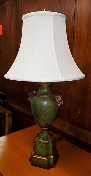 Ram's Head Table Lamp