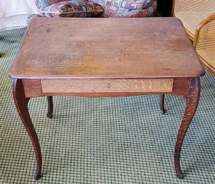 Antique Tiger Oak Desk
