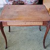Antique Tiger Oak Desk
