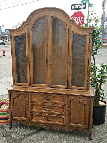 Vintage Hickory Mfg. Co. China Cabinet