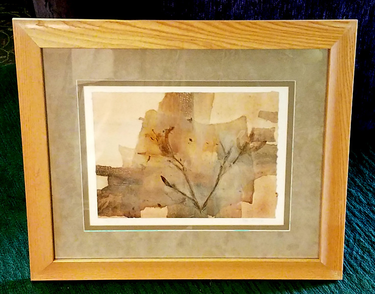 Peggy Brown Abstract Framed Art