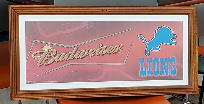 Budweiser Bar Mirror