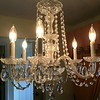 Crystal Glass Chandelier