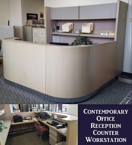 Contemporary Reception Workstation