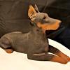 Retired Sandicast Dog Statue