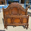 Antique Headboard and Foot Board