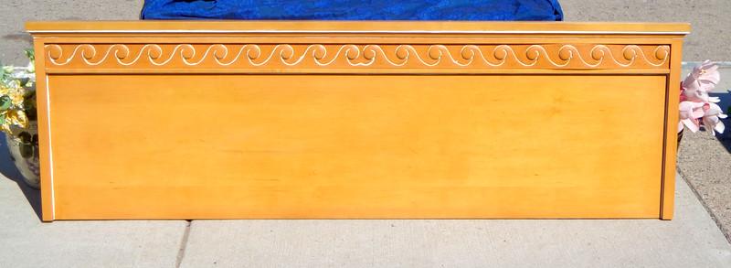 Impressive Pine Wood King Headboards.  78 x 24.  <b>$40</b>