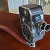 Paillard-Bolex 8mm Film Movie Camera