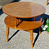 Elegant Uniquely Styled Accent Table / Display Table.  30 x 24.  <b>$85</b>