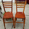 Italian Made Wood Chairs