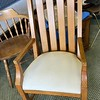 Solid Wood Accent Chair