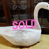 Vintage Hand Crafted Swan