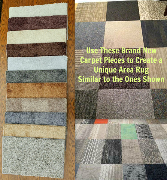 Brand New Carpet Samples