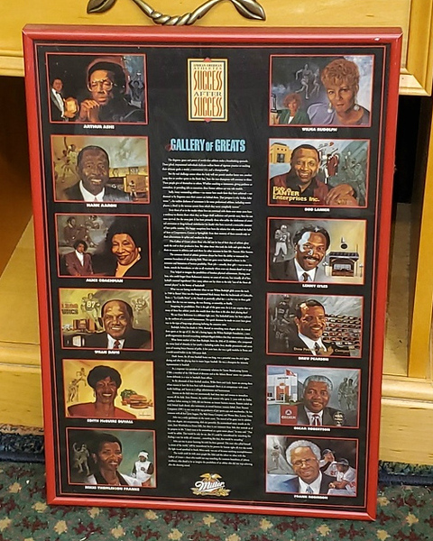 African American Profiles Collectible