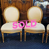 Oval Back Provincial Chairs