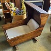 Antique Rocking Baby Cradle