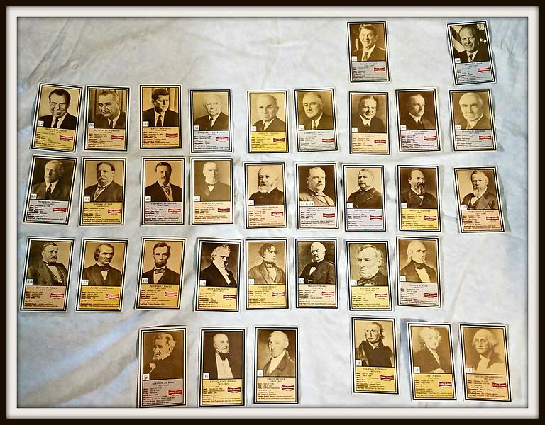Little Debbie - Vintage President Cards