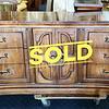 Vintage Concave Dresser