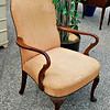 Queen Anne Accent Chair