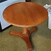 Tiger Oak Center Table