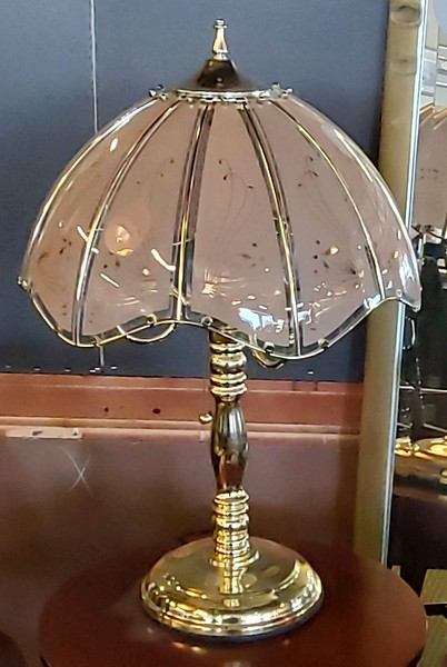 Brass Torch Lamp