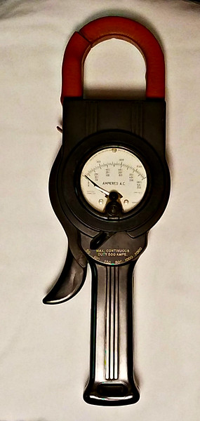 Weston Clamp Amp Volt Meter