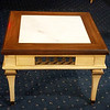 Provincial Marble Accent Table