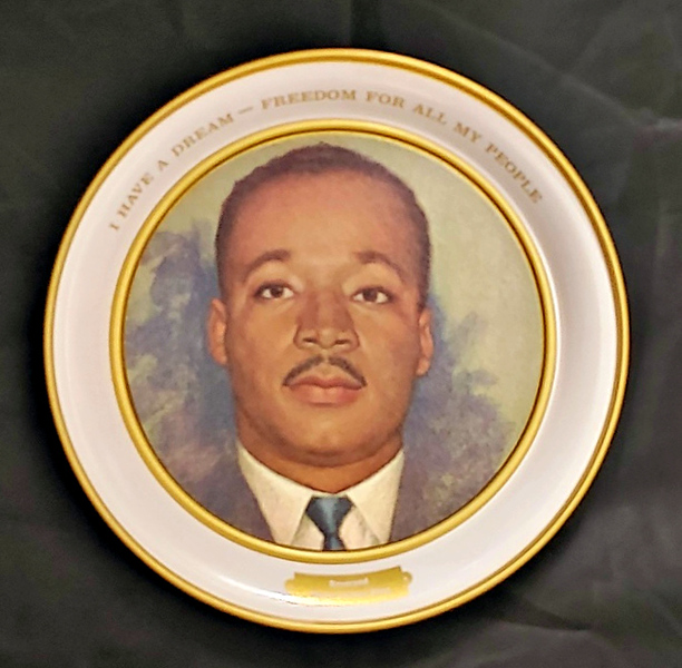 Martin Luther King Jr Collector's Plate