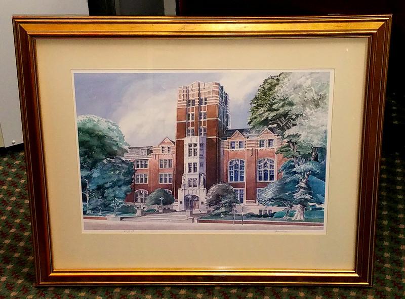 University of Michigan Union Lithograph