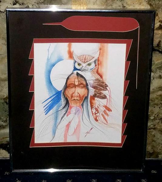 Original Watercolor Art by Amil L. Pedro