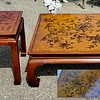 Asian Motiff Coffee Table Set