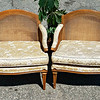 Wicker Back Lounge Chairs