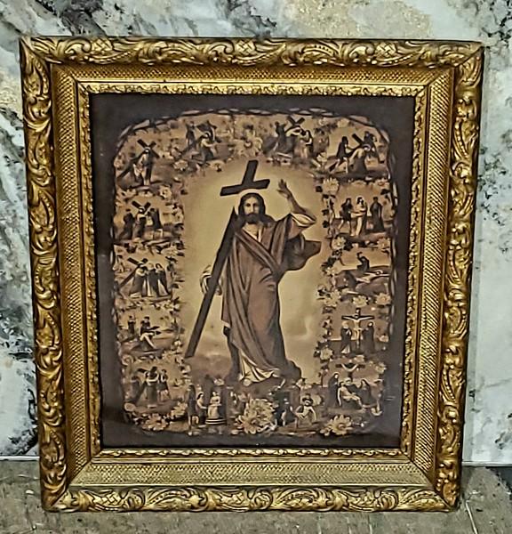 Stations of the Cross Framed Art