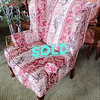 Queen Anne Wing Back Chair