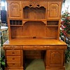 Oak Hutch Office Desk