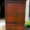 Mahogany Entertainment Armoire