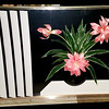 Captivating Contemporary Shadowbox Still Life Lucite Frame in Excellent Condition. 47 1/2 x 5 x 36.  <b>$150</b>