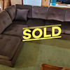 New Microfiber Sectional