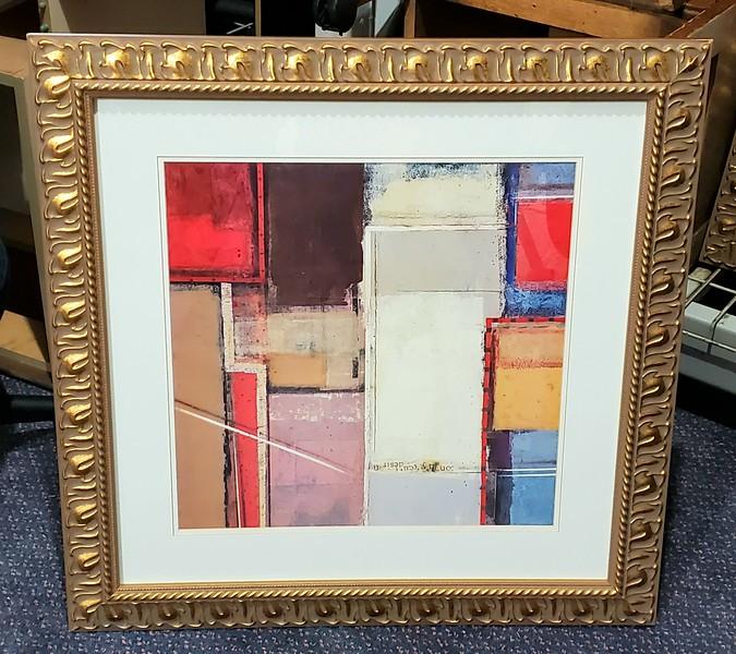 Framed Contemporary Art