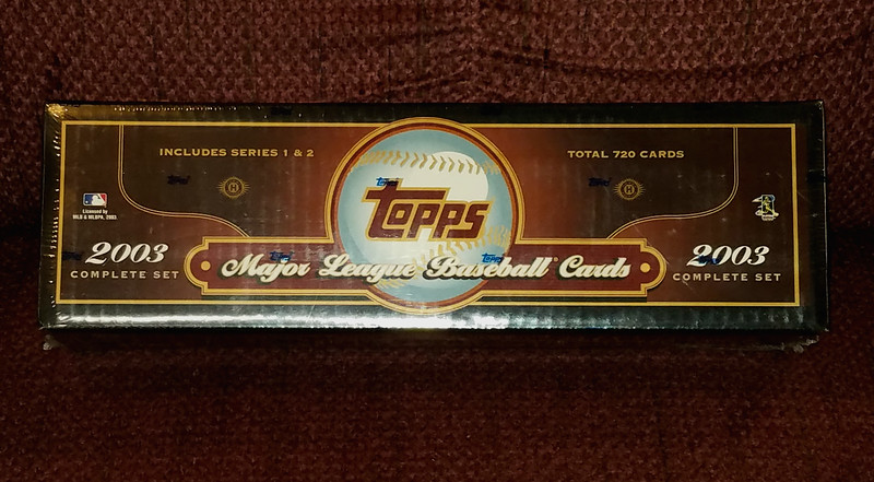 Collectible 2003 Major League Baseball Cards Set