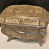 Victorian Pewter Jewelry Box