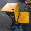 Antique Student Desk