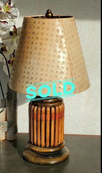 Havana Cigars Table Lamp