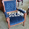 Eastlake Victorian Parlor Chair