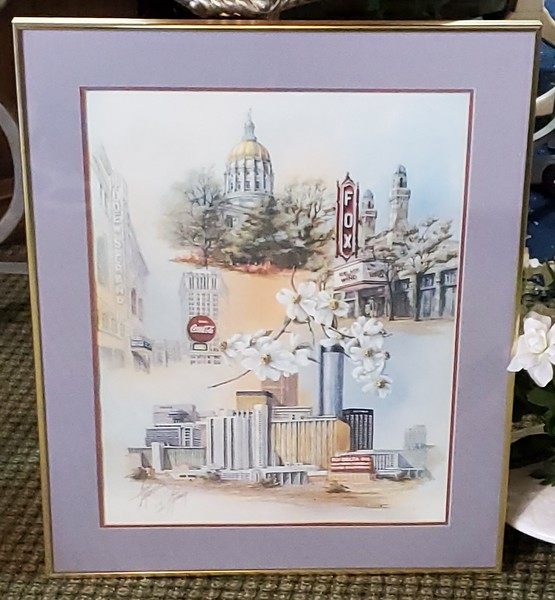 Anni Moller Signed Lithograph