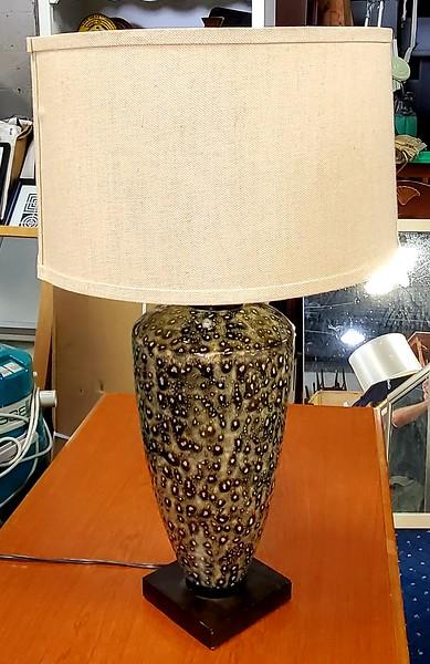 Leopard Print Table Lamp