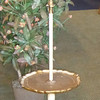 Unique French Provincial Style Floor lamp End Table.  17 x 85.  <b>$125</b>