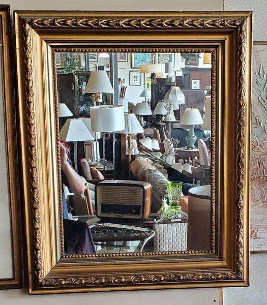 Vintage Ornate Wall Mirror