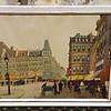 Paris Street Scene, Marcel Brisson